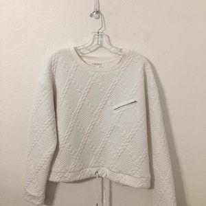 FOREVER 21 White Top size large.